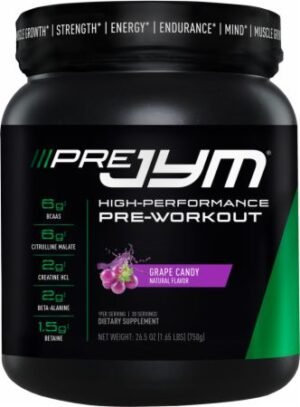 "alt="" A lovely picture of Pre JYM Pre Workout Powder."""